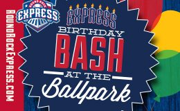 Round Rock Express Birthday Bash