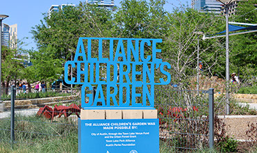 New Children's Garden Opens