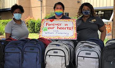 Backpacks Donated