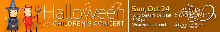 Austin Symphony Halloween Concert